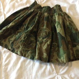 Girls camo skirt from Children's Place